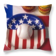 Baseball Dinner Throw Pillow