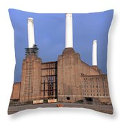 Battersea Power Station Throw Pillow