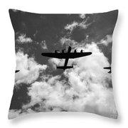 Battle Of Britain Memorial Flight Throw Pillow