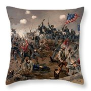 Battle Of Spottsylvania Throw Pillow