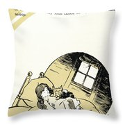 Baum The Wizard Of Oz Throw Pillow