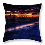 Beach 10 Throw Pillow