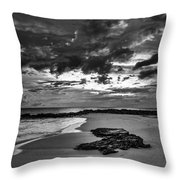 Beach 21 Throw Pillow