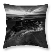 Beach 24 Throw Pillow