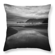Beach 34 Throw Pillow
