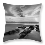 Beach 38 Throw Pillow