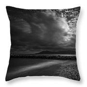 Beach 37 Throw Pillow