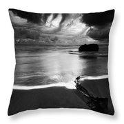 Beach 36 Throw Pillow