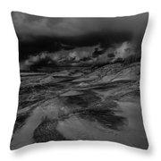 Beach 1 Throw Pillow