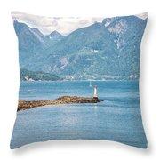 Beacon At Snug Cove Throw Pillow