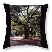 Beautiful Oak Throw Pillow