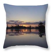 Beautiful Orlando Sunrise Throw Pillow