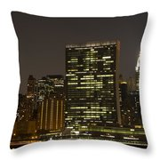 Beauty Of The Night Throw Pillow