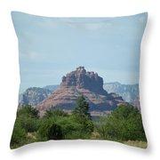 Bell Rock Sedona Throw Pillow