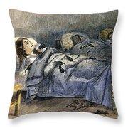 Bellevue Hospital, 1860 Throw Pillow