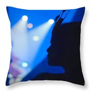 Bellucci Circus  Throw Pillow