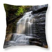 Benton Falls Throw Pillow
