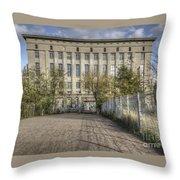 Berghain Club In Berlin Throw Pillow