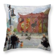 Berlin Alexanderplatz Throw Pillow