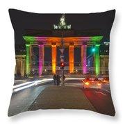 Berlin Lights Throw Pillow