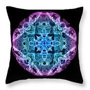 Beta Brainwave Throw Pillow