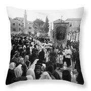 Bethlehem Christmas Throw Pillow
