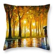 Bewitched Park Throw Pillow