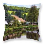 Bickleigh - Devon Throw Pillow