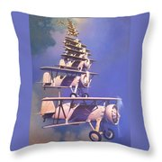 Bill Boeings Fever Dream Throw Pillow