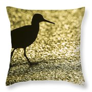 Bird Silhouette Throw Pillow