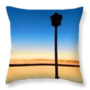 Birdhouse With A View Throw Pillow