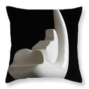 Birth Of A New Moon Throw Pillow