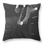 Black Sabbath Tony Martin Throw Pillow