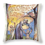 Blake: Songs Of Experience Throw Pillow