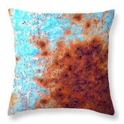 Blister In The Sun Throw Pillow