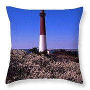 Blooming Barnegat Throw Pillow