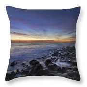 Blue Lagoon Throw Pillow by Debra and Dave Vanderlaan