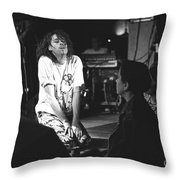 Bob Geldof Throw Pillow