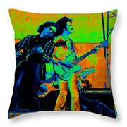 Boc #20 Enhanced In Cosmicolors Throw Pillow