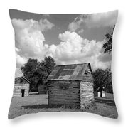 Bohls Cabins At Bee Cave Throw Pillow
