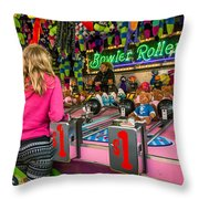 Bowler Roller Throw Pillow