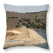 Bradbury Dam Throw Pillow