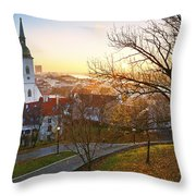 Bratislava. Throw Pillow