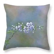 Breath Of Spring Throw Pillow