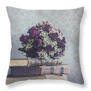 Bridal Bouquet Throw Pillow