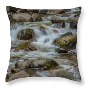 Bridalveil Creek Yosemite Throw Pillow
