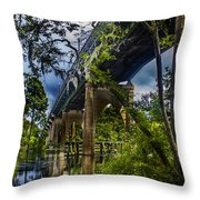 Bridge Throw Pillow by Nelson Watkins