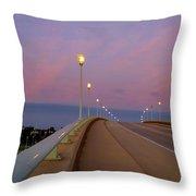 Bridge To The Moon Throw Pillow