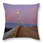 Bridge To The Moon Throw Pillow