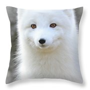 Bright Eyes Throw Pillow